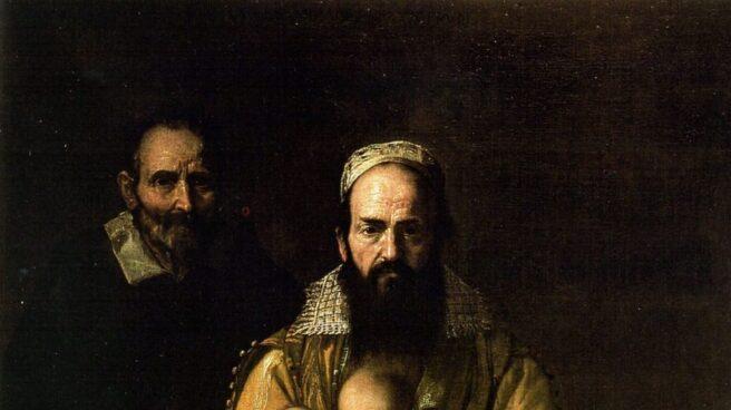 Magdalena Ventura con su marido, de Ribera.