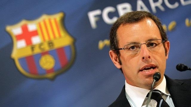 El ex presidente del FC Barcelona Sandro Rosell.
