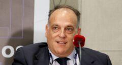 El presidente de la Liga de Fútbol Profesional, Javier Tebas, investigado por supuesto fraude fiscal.