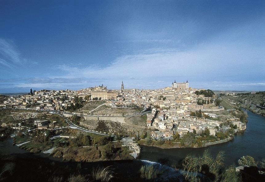 La ciudad de Toledo.