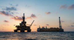 Un yacimiento marino de petróleo de Total.