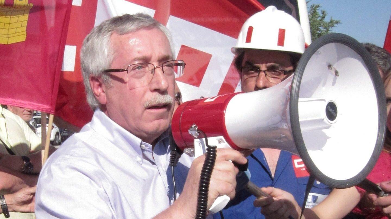 El exsecretario general de CCOO, Ignacio Fernández Toxo, en una manifestación.