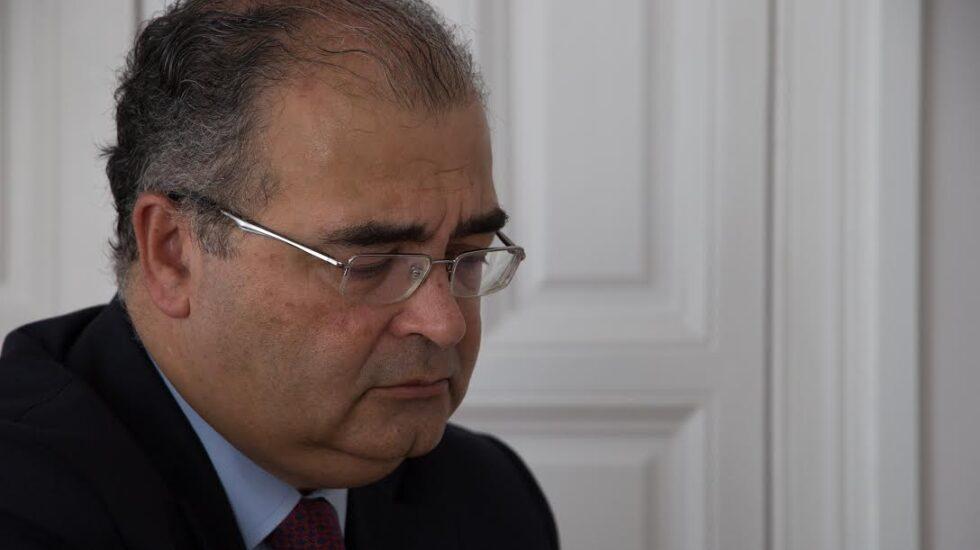 El ex presidente del Banco Popular, Ángel Ron, durante la entrevista con El Independiente.