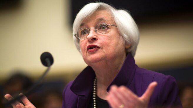 Janet Yellen, presidenta de la Reserva Federal de Estados Unidos.