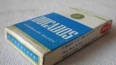 Cuando los niños 'fumaban' cigarrillos de chocolate