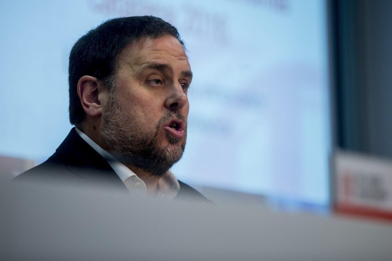 Oriol Junqueras, vicepresidente de la Generalitat y consejero económico del Govern.