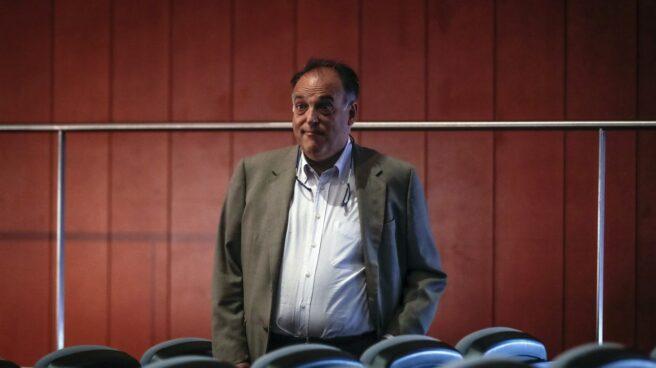 El presidente de la Liga de Fútbol, Javier Tebas.