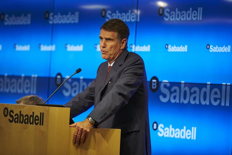 El consejero delegado del Sabadell, Jaume Guardiola.