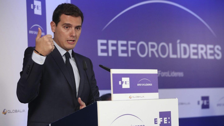 Albert Rivera, en EFE Foro Líderes.
