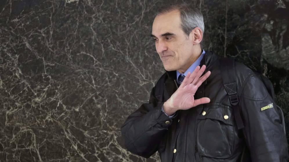 Alejandro Luzón, en la Audiencia Nacional.