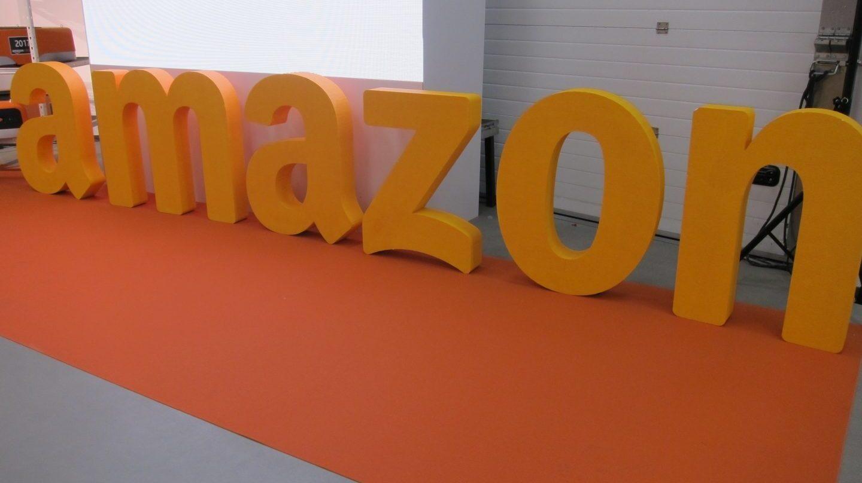 Logotipo de la compañía Amazon.
