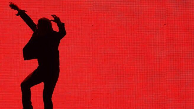 Bono, en el concierto de U2 en Barcelona.