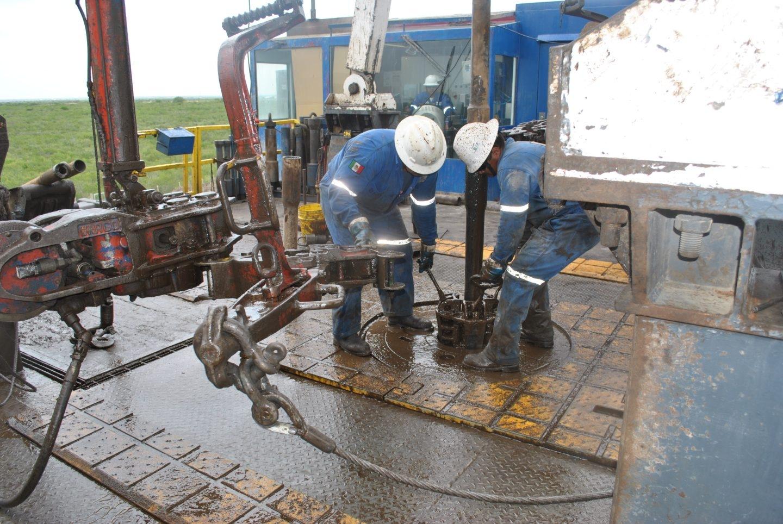 Campos de gas de ACS en México.