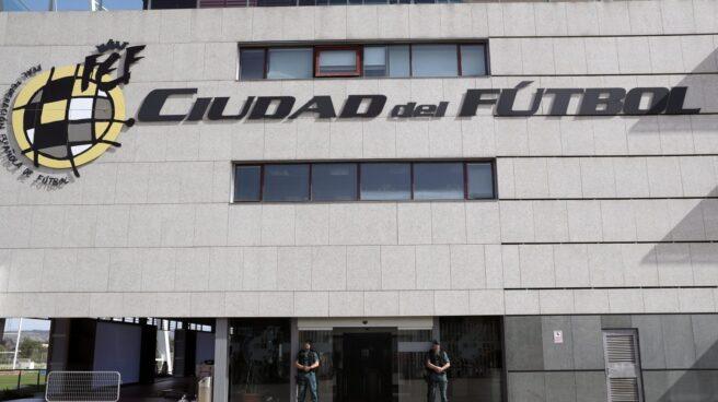 Ciudad del Fútbol en Las Rozas.