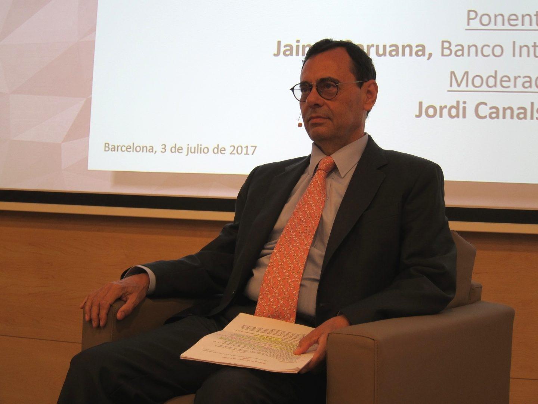El ex gobernador del Banco de España, Jaime Caruana.