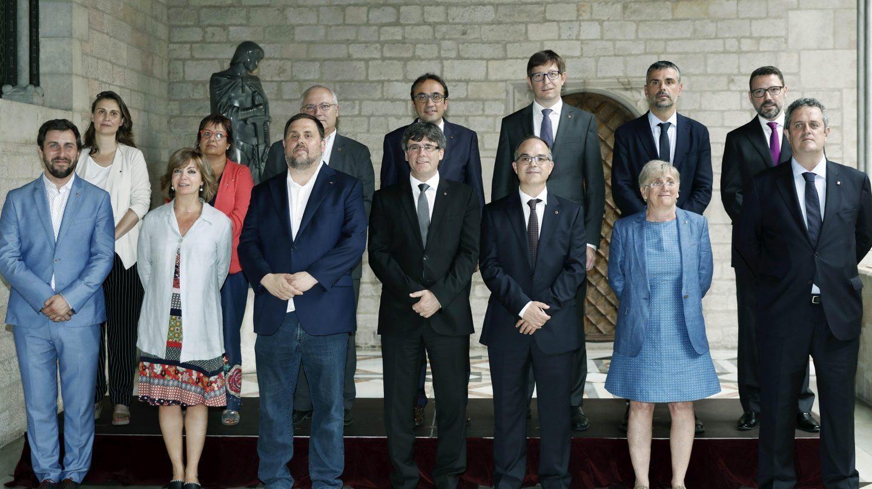 El nuevo Gobierno de Puigdemont.