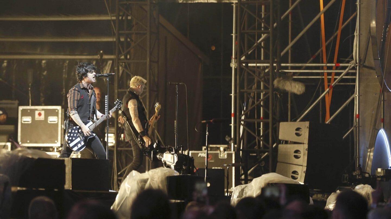 Green Day, en el Festival Mad Cool.