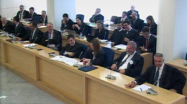 La sala del juicio de Gurtel en la Audiencia Nacional.
