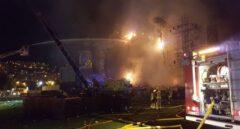 Incendio en Tomorrowland.