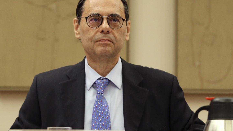 Jaime Caruana, en la comisión de investigación en el Congreso sobre la crisis bancaria.