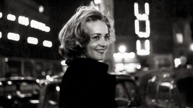 Muere la actriz francesa Jeanne Moreau.