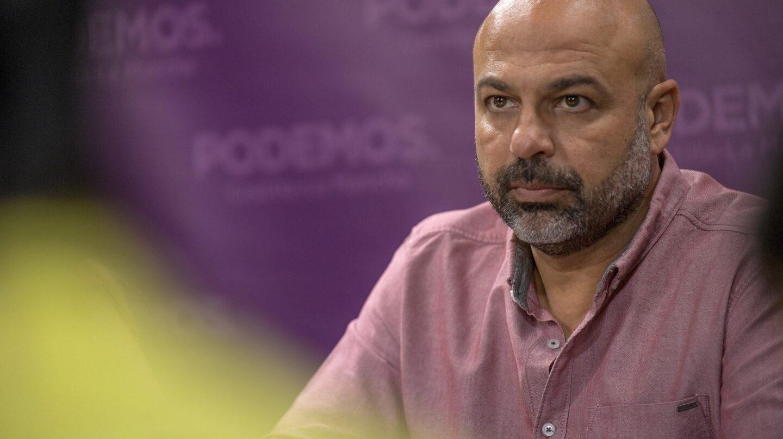 José García Molina, líder de Podemos en Castilla-La Mancha.