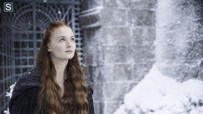 Sophie Turner interpreta a Sansa Stark