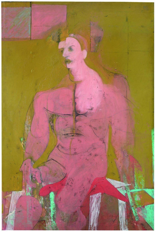 Willem de Kooning (1904-1997) Seated Figure (Classic Male) (Figura sentada [Hombre clásico]), h. 1941-1943