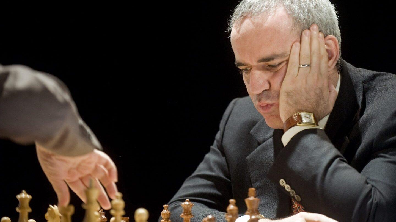 Kasparov, en una partida.