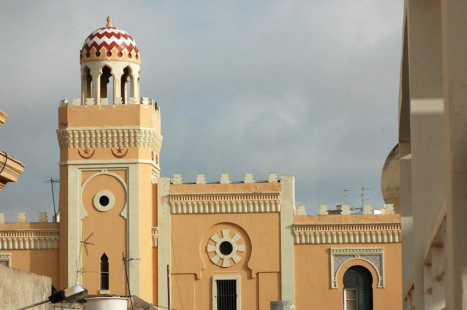 Vista general de una mezquita de Melilla.