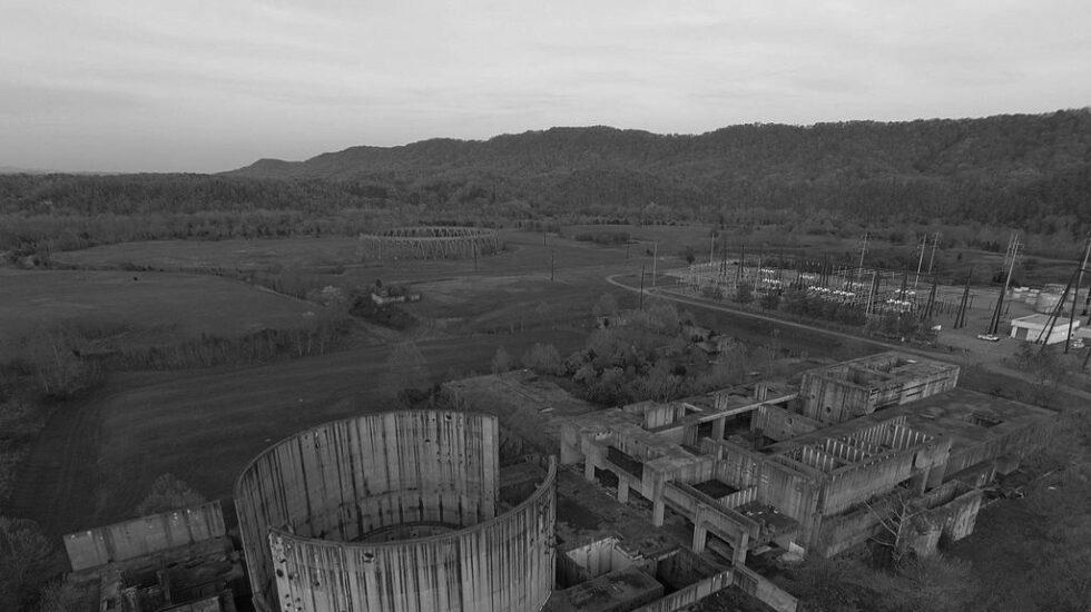 La central nuclear abandonada de Phipps Bend, en el estado norteamericano de Tennessee.