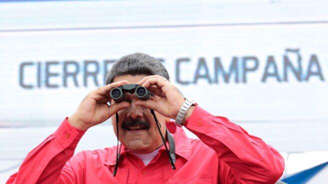 Nicolas Maduro, durante un acto en Caracas.