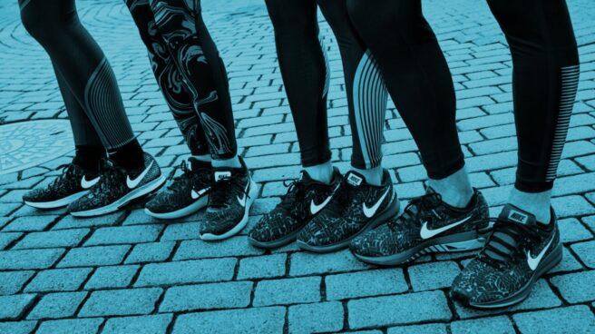 Zapatillas deportivas de la marca Nike.