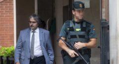 El secretario general de Presidencia, Joaquim Nin, tras declarar a la Guardia Civil.
