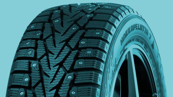 Neumático de la marca Nokian Renkaat.