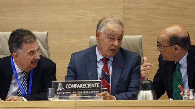 El ex Director Adjunto Operativo de la Policía Nacional, Eugenio Pino, durante una comparecencia.