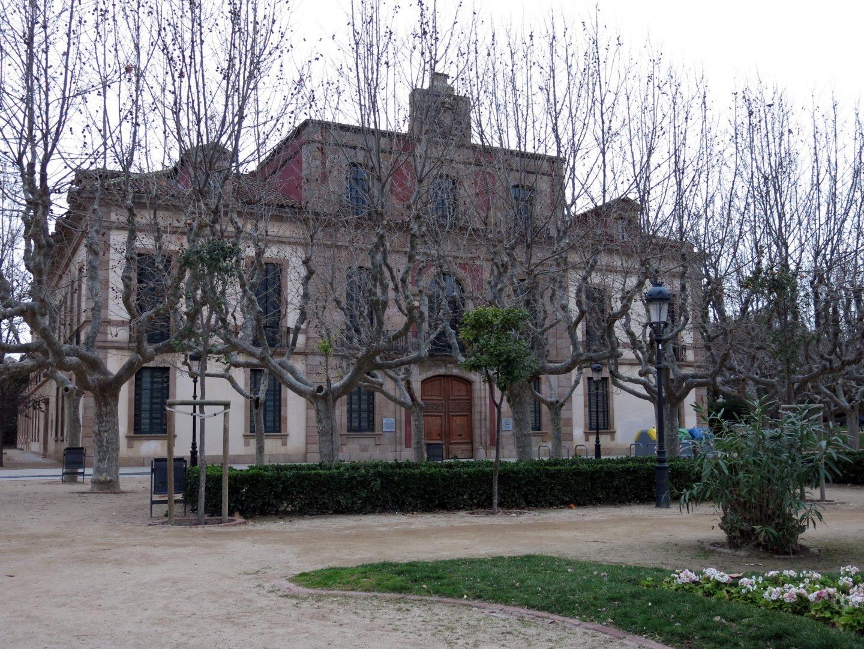El antiguo Palacio del Gobernador en el Parque de la Ciudadela de Barcelona fue la sede que acogió la Asamblea de Parlamentarios.