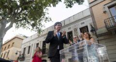 Los catalanes en el extranjero emiten ya su voto para el referéndum del 1-O