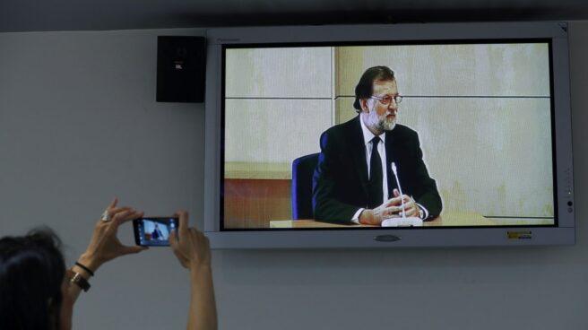 Rajoy, ante el tribunal de Gürtel.