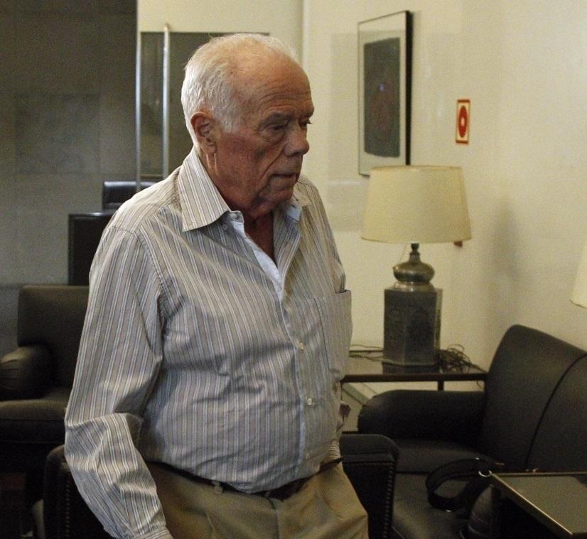 Rosendo Naseiro, ex tesorero del PP, en el Congreso.