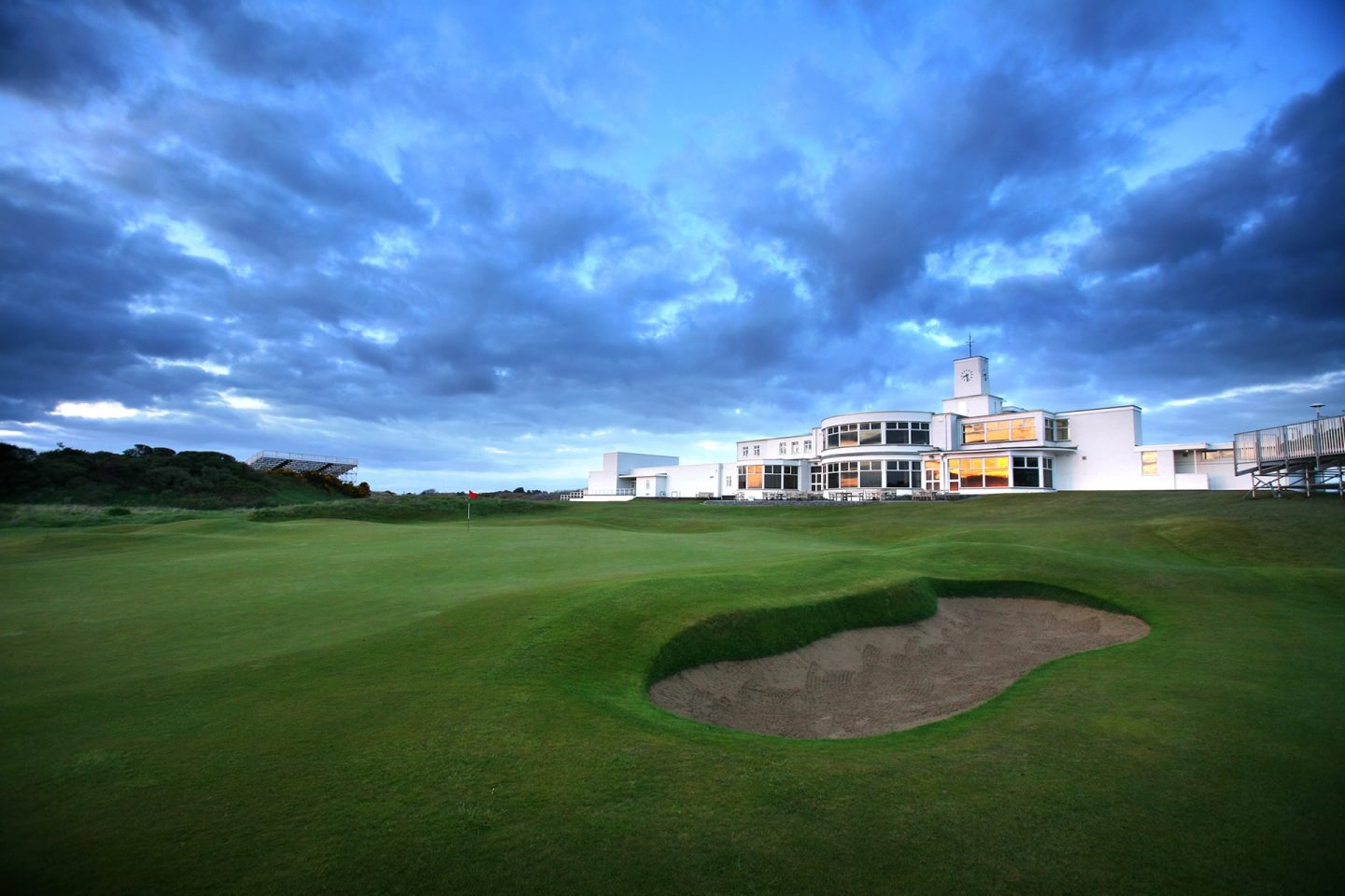 El British Open se juega en el Royal Birkdale Club.