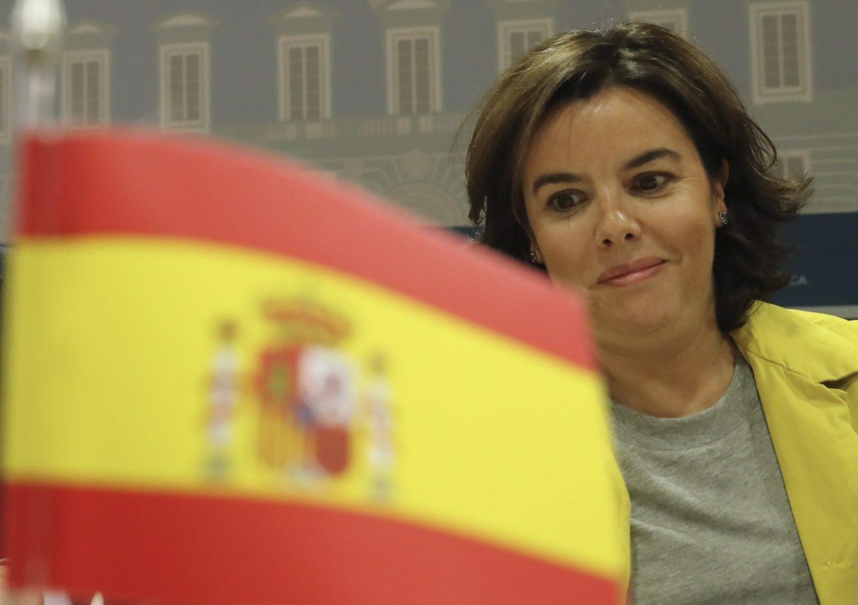 Soraya Saenz de Santamaria, vicepresidenta del Gobierno.