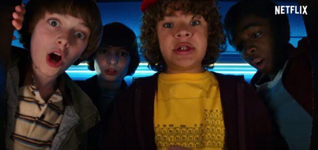 Los protagonistas de Stranger Things 2