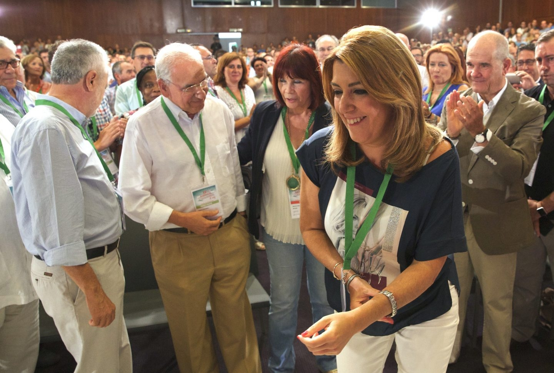 Susana Díaz, en el Congreso del PSOE andaluz.