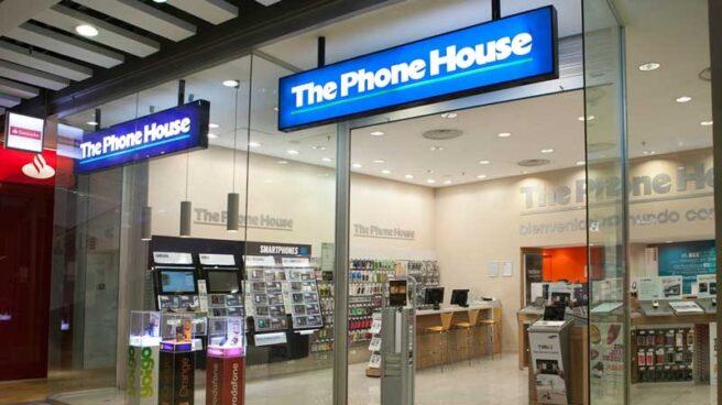 Una tienda de The Phone House.