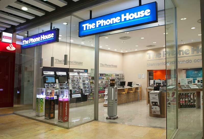 Una tienda de The Phone House.