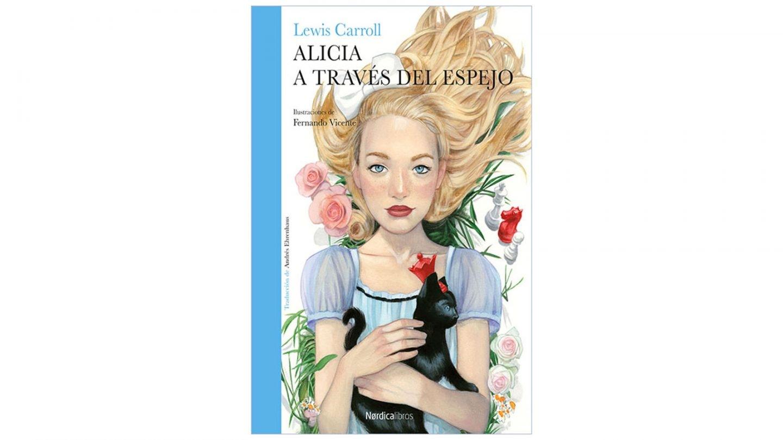 'Alicia a través del espejo', de Lewis Carroll; i lustraciones de Fernando Vicente. Editado por Nórdica Libros.