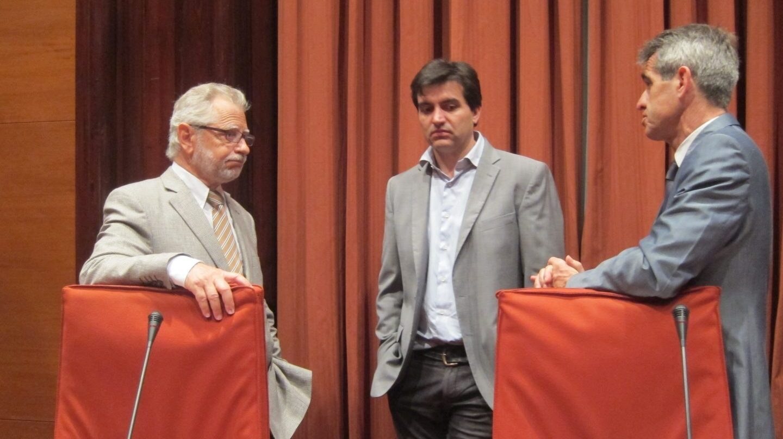 El letrado mayor del Parlament, Antoni Bayona.
