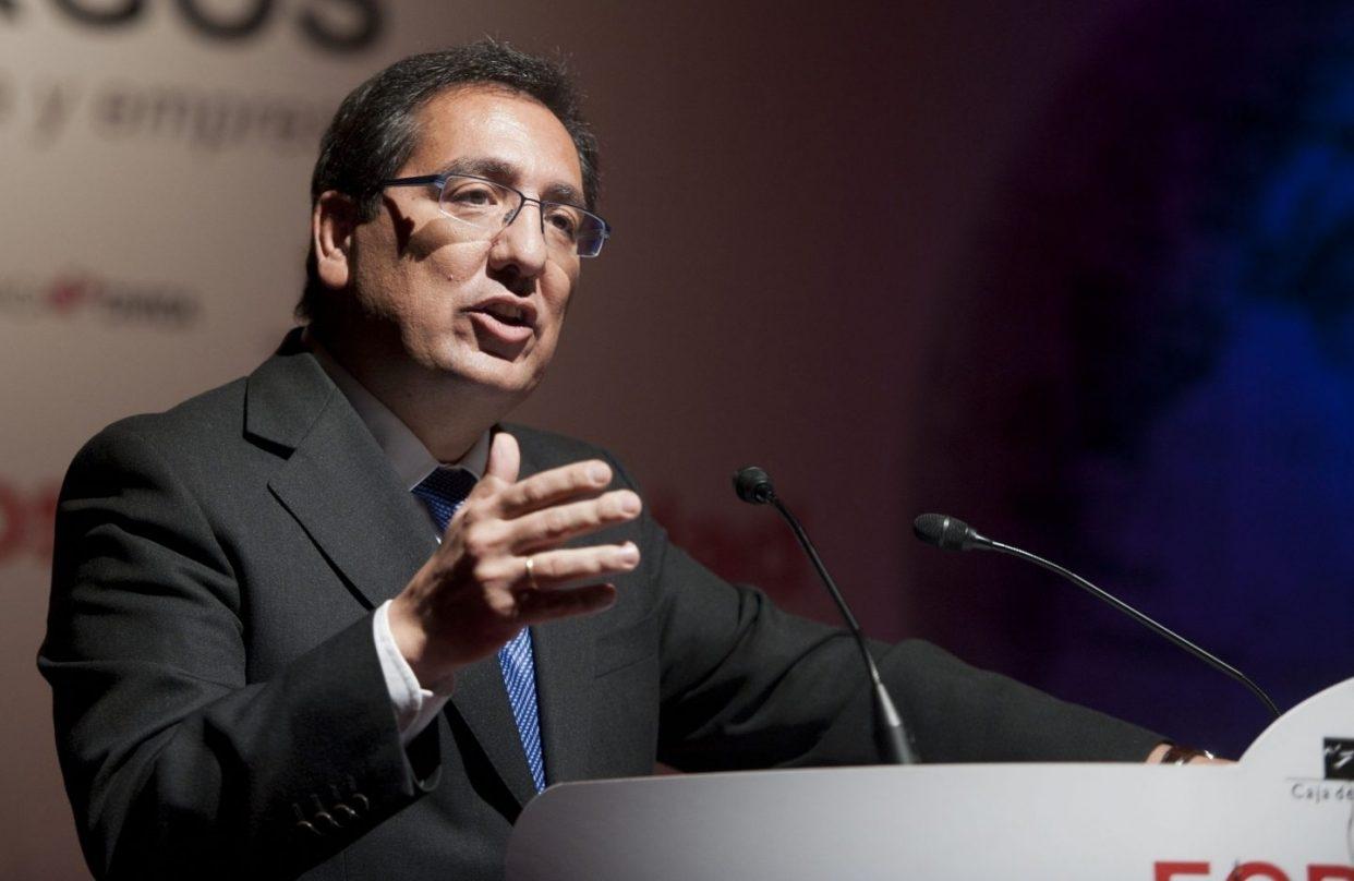 Antonio Pulido, 'banquero' de Susana Díaz, es el presidente de la Fundación Cajasol.