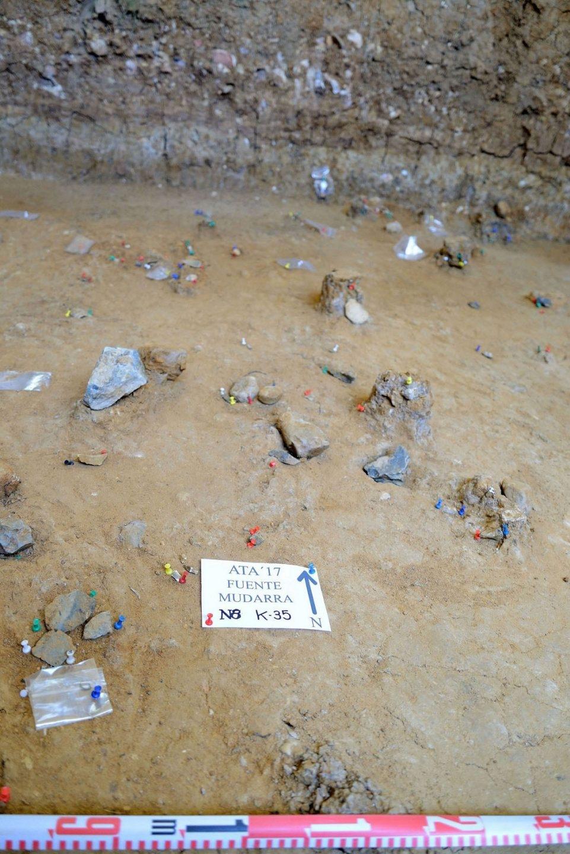 Los restos de Neandentales encontrados en Atapuerca.